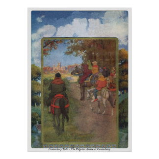 Canterbury Tales - The Pilgrims Arrive Poster