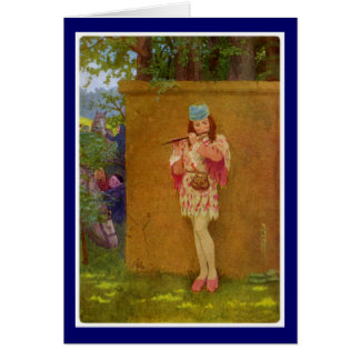 Canterbury Tales - The Squire Card