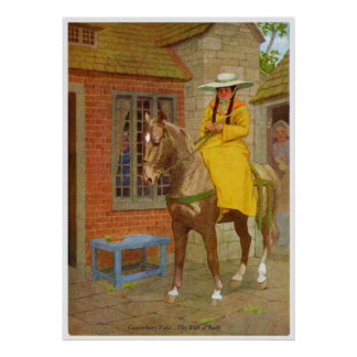 Canterbury Tales - The Wife of Bath Poster