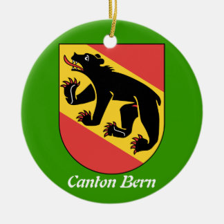 Canton Bern* Switzerland Christmas Ornament