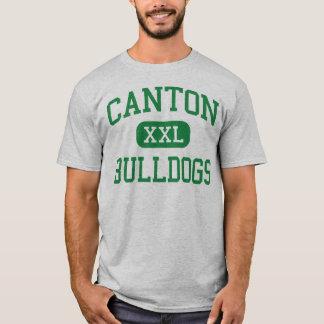 Canton - Bulldogs - High - Canton Massachusetts T-Shirt