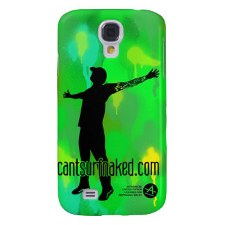 cantsurfnaked (camouflage) galaxy s4 case