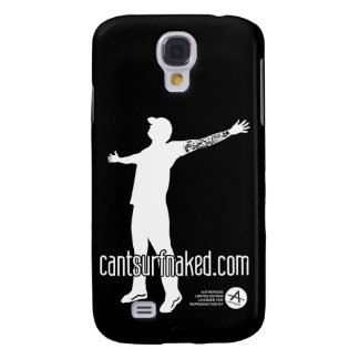 cantsurfnaked White Galaxy S4 Cover