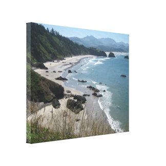 Canvas Art Oregon Coast