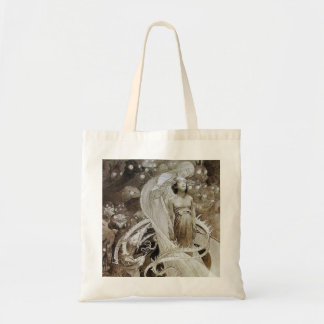 Canvas Bag:  Mucha Illustration from Le Pater