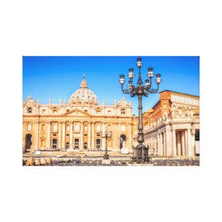 Canvas Basilica San Pietro