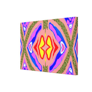 CANVAS : Candle LIGHT  kaleidoscope Canvas Print