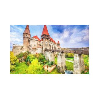 Canvas Corvin castle