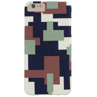 Canvas look shapes phone cover