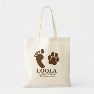Canvas LOOLAorg Tote Bag
