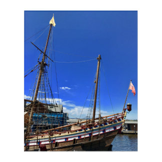 "Canvas photograph ""Sailing for Adventure"" Acrylic Wall Art"