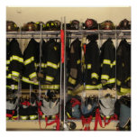 Canvas Print Bunker Gear
