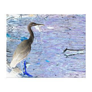 Canvas Print - Crane