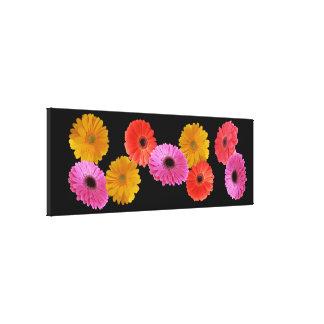 Canvas Print - Gerbera Flowers