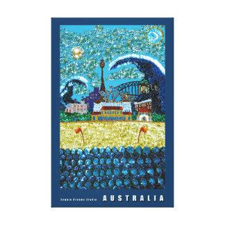 Canvas Print | Luna Bondi | Sydney Australia