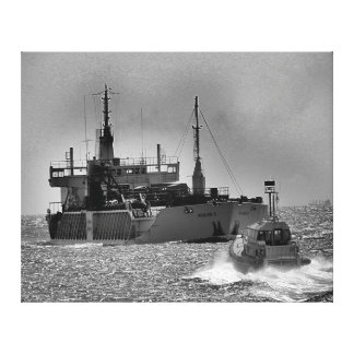 Canvas Print - Maritime Meeting
