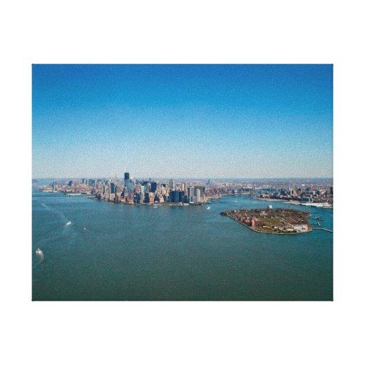 Canvas print: New York Downtown