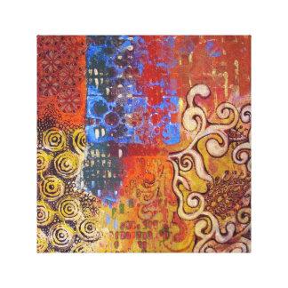 "Canvas print ""Oriental day'"