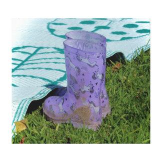 Canvas Print - Rain Boots