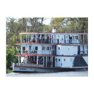 Canvas Print - Riverboat