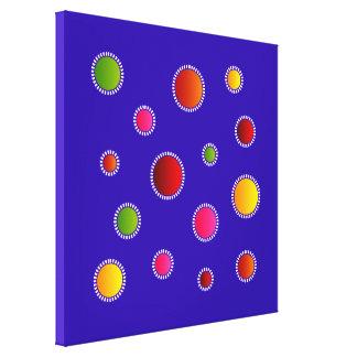 """Canvas print  """"Soléa"""" - Model : Colours"""
