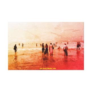 Canvas Prints juhu beach mumbai india