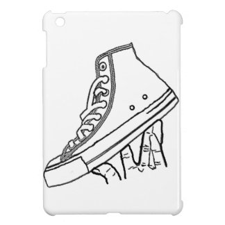Canvas sneaker phone cover case for the iPad mini