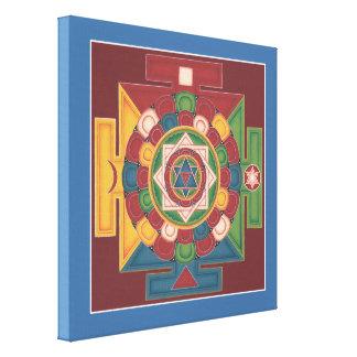 CANVAS SQUARE - Mandala of the 5 Elements Canvas Print