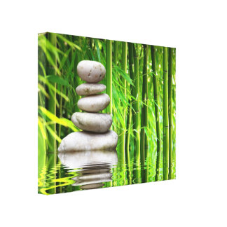Canvas stone tower