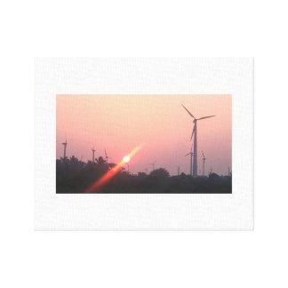 Canvas sunrise
