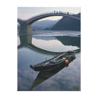 Canvas - The Boat Beyond The Bridge