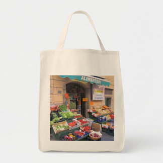 Canvas Tote--Italian Market Tote Bag