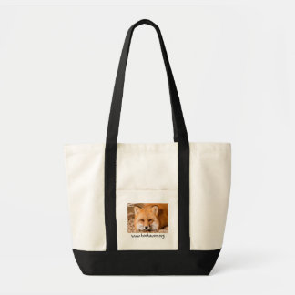 Canvas Tote with Red Fox - Customized