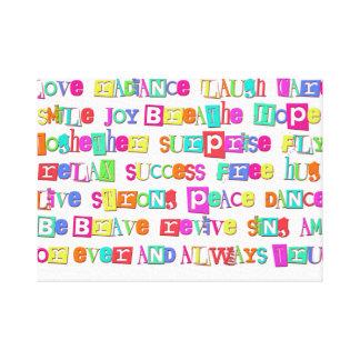 Canvas Words