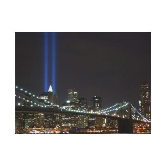 Canvas - World Trade Center Tribute in Light Stretched Canvas Print