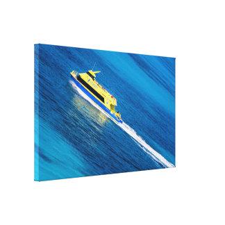 Canvas Wrap - Island Ferry - Cancun, Mexico