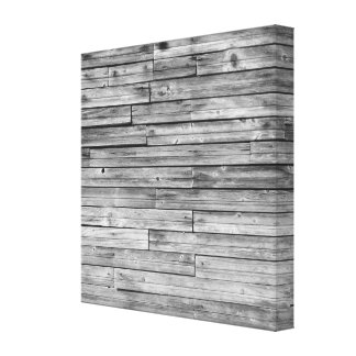 Canvas - Wrapped - Weathered Barn Wood Canvas Print