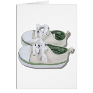CanvasBabyShoes101610 Greeting Card