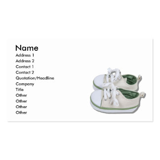 CanvasBabyShoes101610, Name, Address 1, Address... Pack Of Standard Business Cards