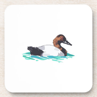 CANVASBACK DUCK BEVERAGE COASTERS