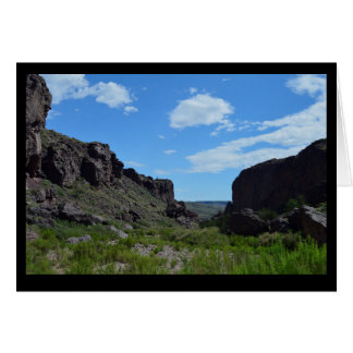 Canyon Box Card