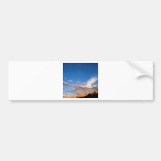 Canyon Clouds Grand Bumper Sticker