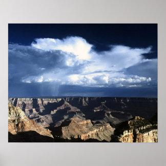 Canyon Cumulonimbus Poster