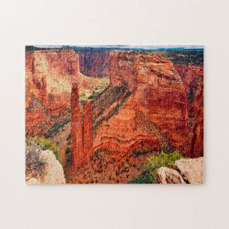 Canyon de Claire New Mexico. Jigsaw Puzzle