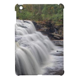 Canyon Falls On The Sturgeon River Near L'Anse Cover For The iPad Mini