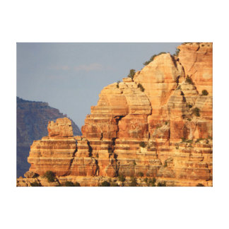 Canyon Layers Stretched Canvas Print