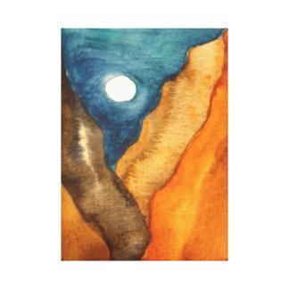 Canyon Moon Canvas Print