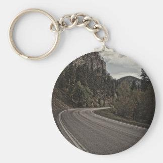 canyon_road basic round button key ring