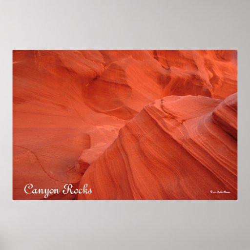 Canyon Rocks Print