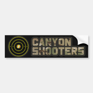 Canyon Shooters Bumper Sticker